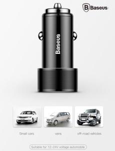 Sạc ô tô Baseus 36W Type C PD (BH1T)